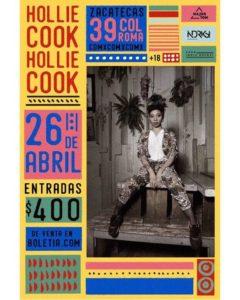 Hollie Cook regresa a México