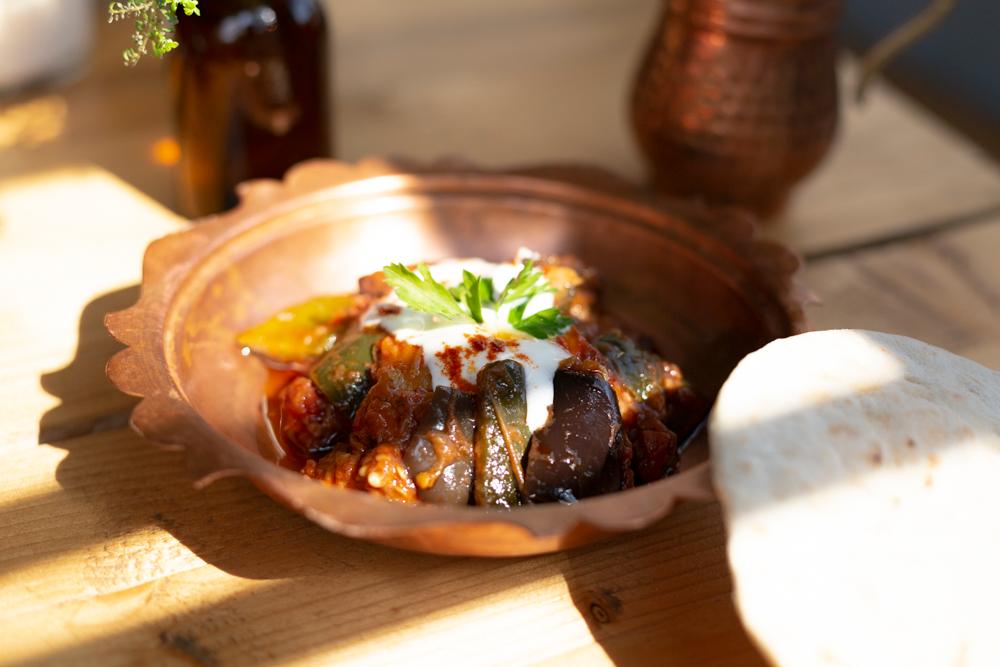 El Jardín de Anatolia Comida Turca