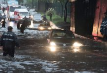 inundaciones en indios verdes