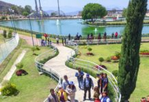¿Ya lo visitaste? Estrenan lago artificial en Chimalhuacán