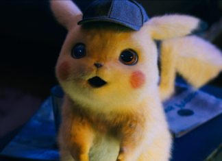 nuevos pósters de detective Pikachu