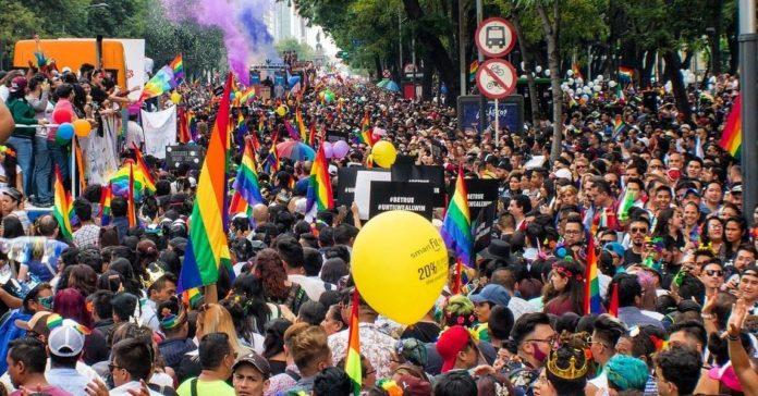 41 Marcha LGBTTTI en la CDMX