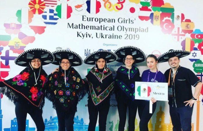 Mexicanas ganan medallas de plata y oro en olimpiada de Matemáticas