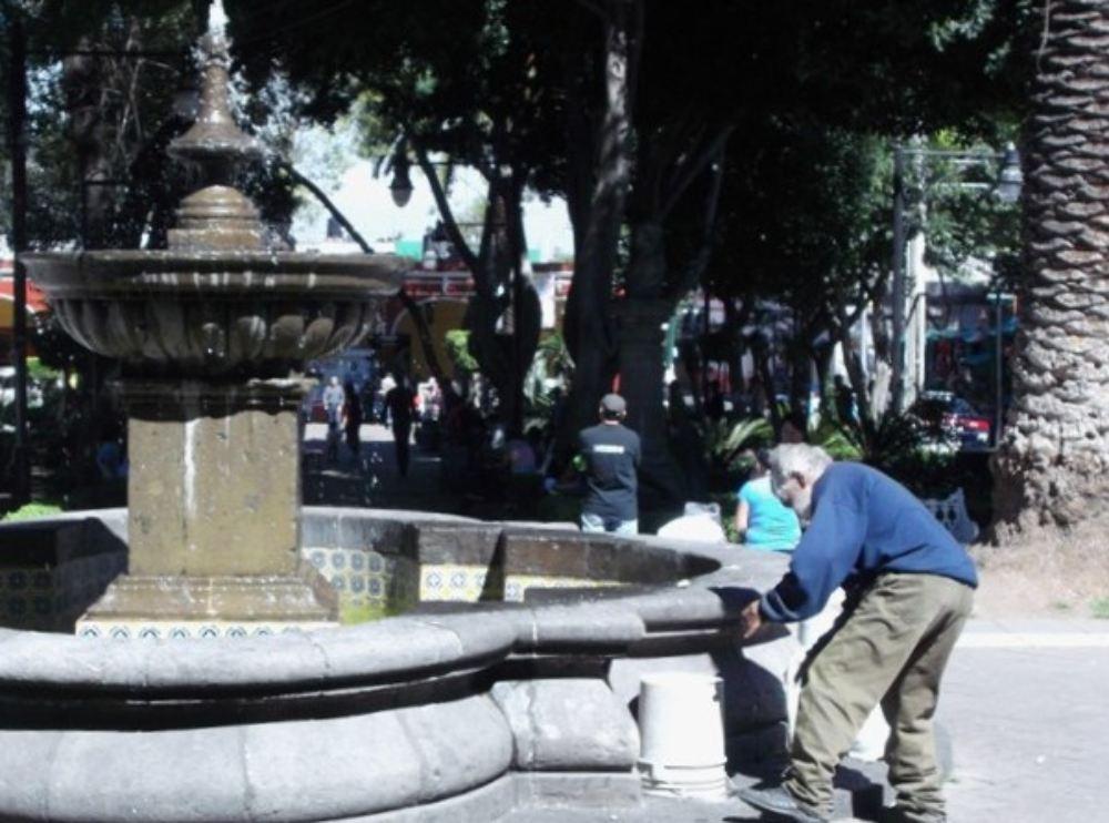 Panchito en el centro de Tlalpan