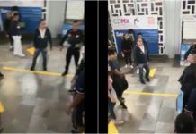 peleas de ambulantes en el Metro