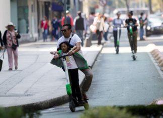 prueba piloto de bicicletas sin anclaje y monopatines