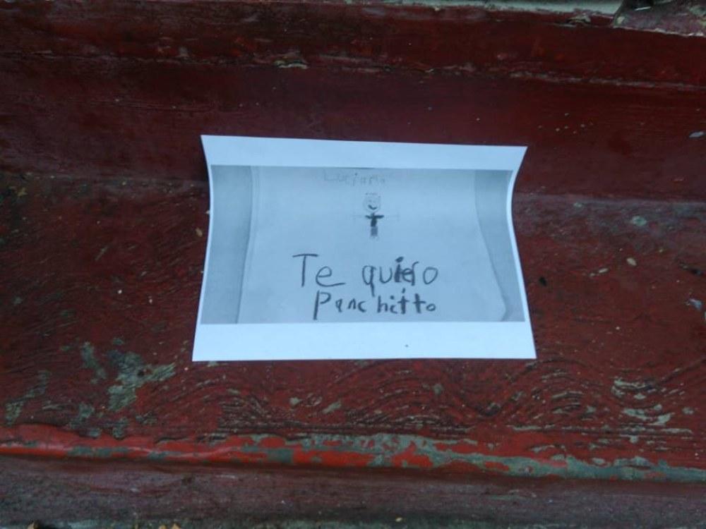 quieren a Panchito en el centro de Tlalpan