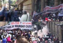 #Fotos y videos: ocurre riña en el Congreso de la CDMX
