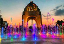 verdi en el monumento a la revolución