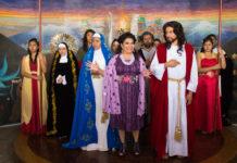 viacrucis de iztapalapa es un desfile de moda