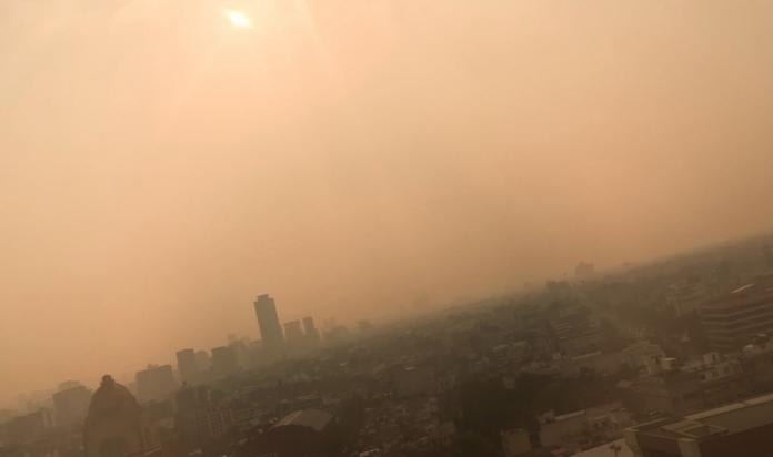 fotos y videos de la contaminación