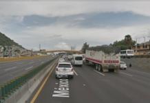 puente vehicular en la México-puebla