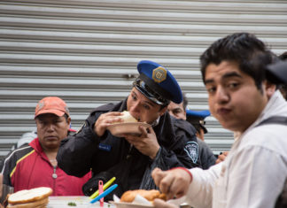 dieta a policías