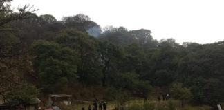 Se desploma aeronave en Atizapán, Estado de México