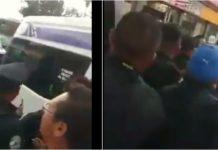 asalto a una combi en Tláhuac