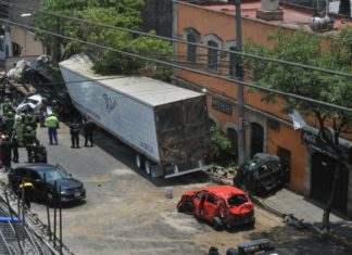 accidentes de tránsito en la CDMX