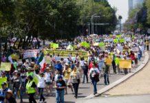 marchas del domingo 5 de mayo 2019 en la CDMX