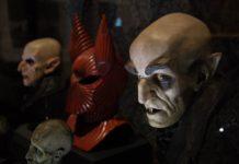 fotos de la exposición de Guillermo del Toro
