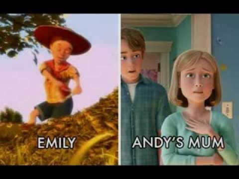 conexiones de Pixar y Disney