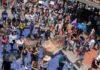 Estudiantes realizan protesta por Aideé en Ciudad Universitaria