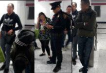 Detienen a supuesta banda dedicada al robo de celulares en el Metro