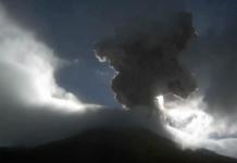 explosiones en el Popocatepetl
