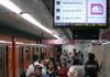 tiempo real en el Metro
