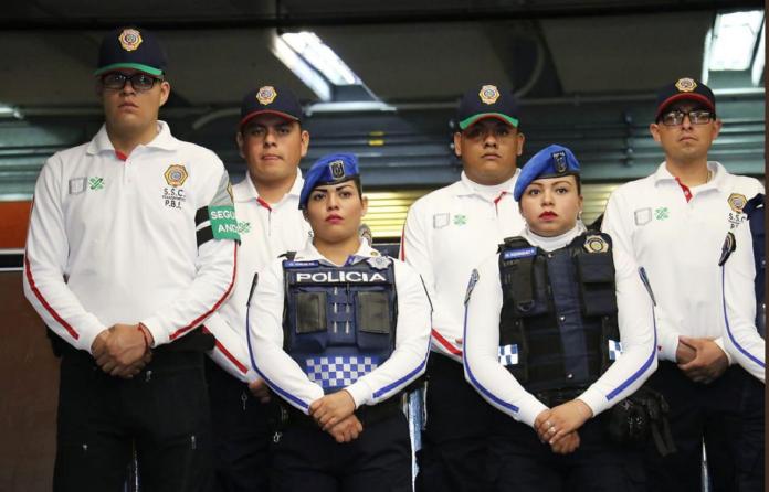 nueva imagen de la policía del transporte