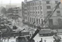 construcción de la primera Línea del Metro
