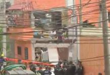 explosion en la calle Chimalpopoca