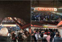 fallas en la Línea 7 del metro