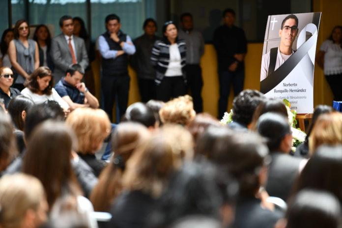 muerte de Norberto Ronquillo