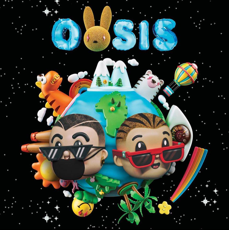 Oasis nuevo disco de J Balvin y Bad Bunny