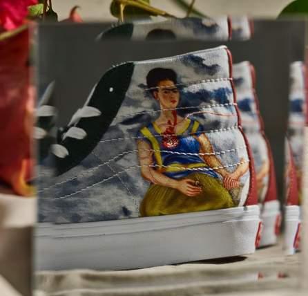 Vans de Frida Kahlo SK8