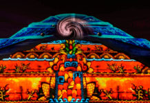 Experiencia nocturna en las pirámides