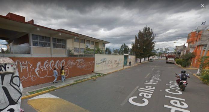 balacera afuera de una primaria