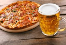 BUFFET DE PIZZA Y CERVEZA EN NEW YORKING