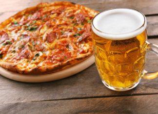 BUFFET DE PIZZA Y CERVEZA EN NEW YORKING