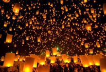 festival de globos de cantolla en teotihuacán