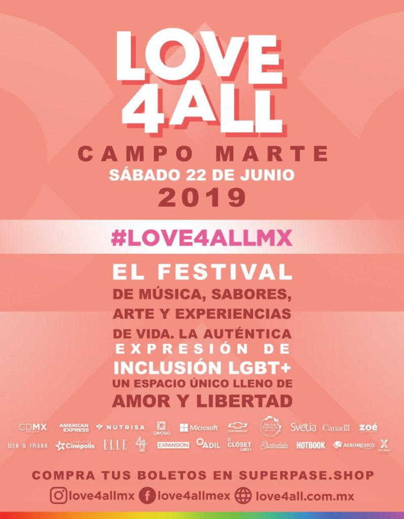 festival love4all poster