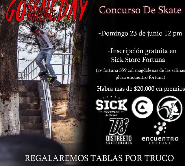 go skate day fortuna