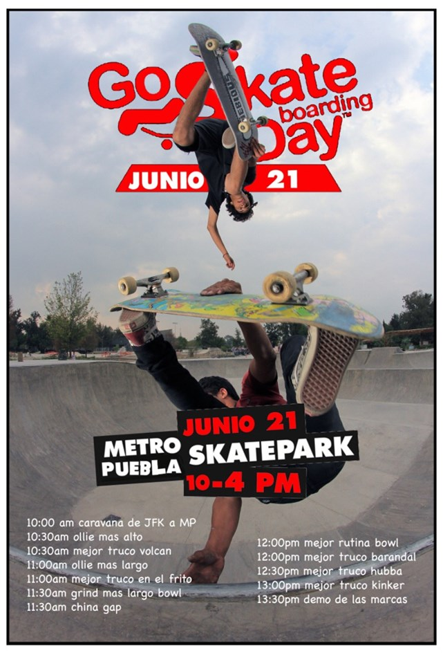 go skate day metro puebla