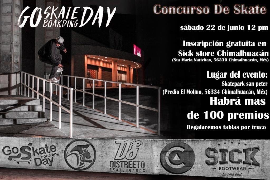 go skate day sick