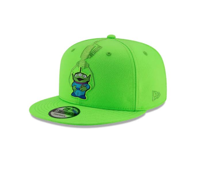 gorras toy story alien verde