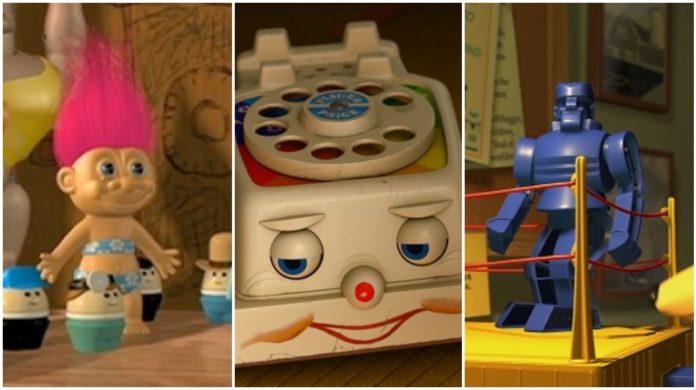 juguetes reales en toy story