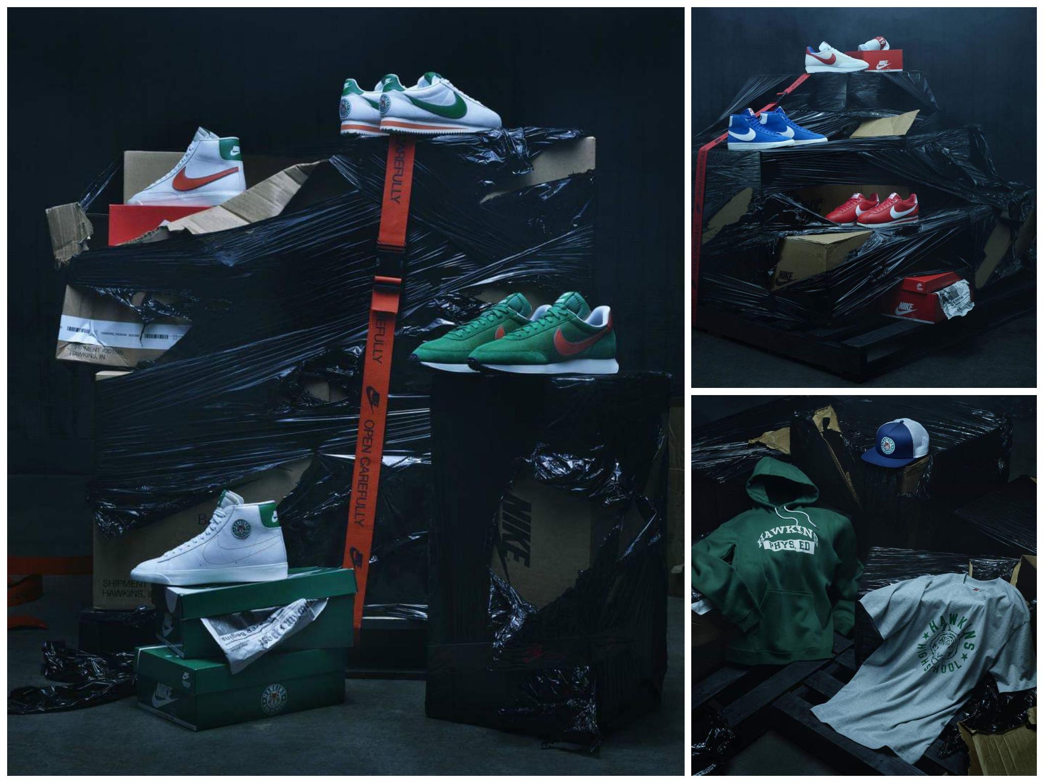 Ropa Línea Y A La De Stranger Things Querer Toda Vas Nike nPy8Ov0mNw