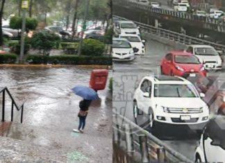 Lluvia del 26 de junio dejó encharcamientos en Periférico