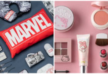 marvel y hello kitty en miniso