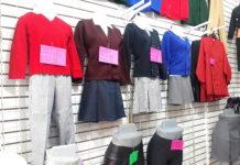 Costo de los uniformes escolares