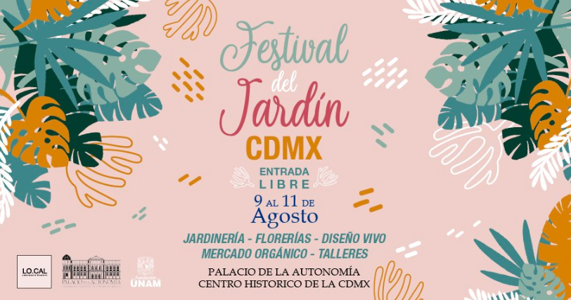 Festival del Jardín en el Palacio de Autonomía